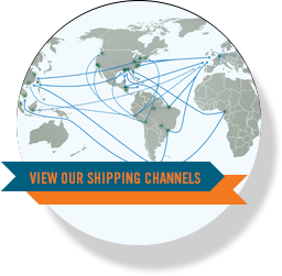 VIEW OUR SHIPPING CHANNELS