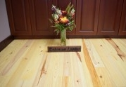 Solid Caribbean Heart Pine Prefinished (Rustic/Natural)