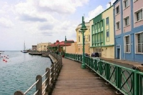 The Bridgetown Boardwalk, Barbados: Ipe decking